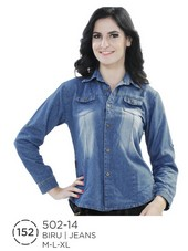 Atasan Wanita Jeans 502-14