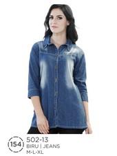 Atasan Wanita Jeans 502-13