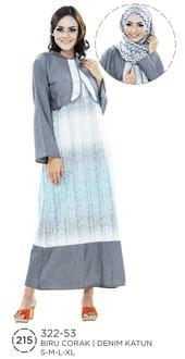 Long Dress Denim 322-53