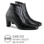 Sepatu Boots Wanita Kulit 548-03