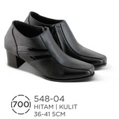 Sepatu Boots Wanita Kulit 548-04