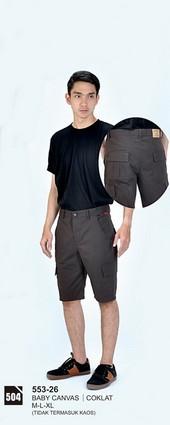 Celana Pendek Pria Azzurra 553-26