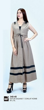 Long Dress Azzurra 340-48