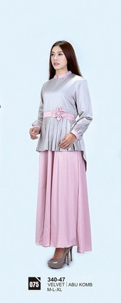 Long Dress Azzurra 340-47