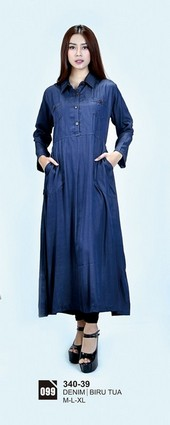 Long Dress Azzurra 340-39