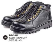 Sepatu Safety Kulit Pria BRC 441