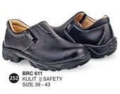 Sepatu Safety Kulit Pria BRC 611