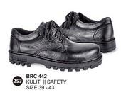 Sepatu Safety Kulit Pria BRC 442