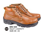Sepatu Safety Kulit Pria BRC 609