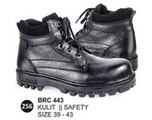 Sepatu Safety Kulit Pria BRC 443