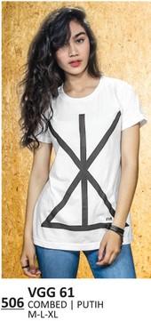 Kaos T Shirt Wanita VGG 61