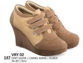 Sepatu Boots Wanita Everflow VRY 02