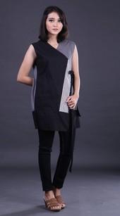 Dress Hitam FGN 013