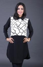 Dress Hitam FRH 010