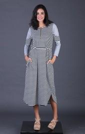 Dress Hitam FRH 015