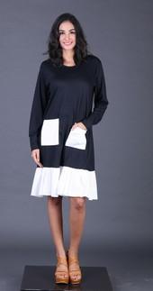 Dress Hitam FYT 011