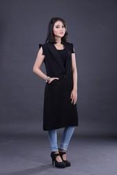 Dress Hitam IMS 4258