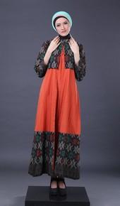 Gamis Orange FII 012