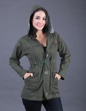 Jaket Wanita Hijau FEN 003