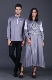 Pakaian Pasangan Abu ASP 1182