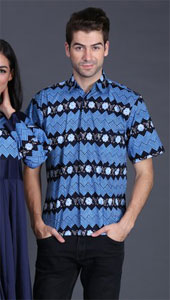 Pakaian Pasangan Biru FII 008