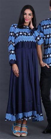 Pakaian Pasangan Biru FII 009