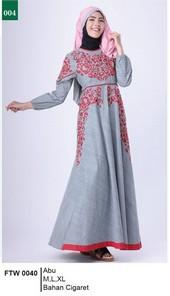 Gamis Garsel Fashion FTW 0040