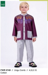 Pakaian Anak Laki Garsel Fashion FWR 0749