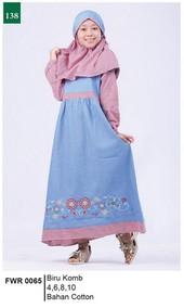 Pakaian Anak Perempuan Garsel Fashion FWR 0065