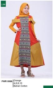 Pakaian Anak Perempuan Garsel Fashion FWR 0066