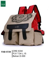 Tas Punggung Garsel Fashion FAB 5729