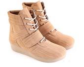 Sepatu Boots Wanita Garsel Shoes L 584