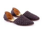 Flat Shoes GRA 6161