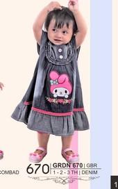 Pakaian Anak Perempuan GRDN 670