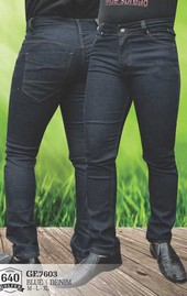 Celana Jeans Denim Pria GF 7603