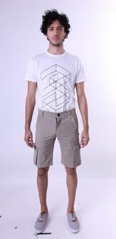 Celana Pendek Twill Pria GS 4271