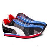 Sepatu Sneakers Canvas Pria GS 6063