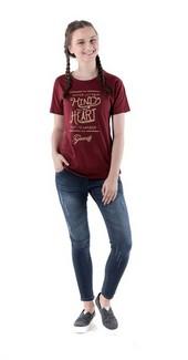 Kaos T Shirt Wanita Geearsy DVD 0715