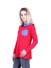 Kaos T Shirt Wanita Hurricane H 0158
