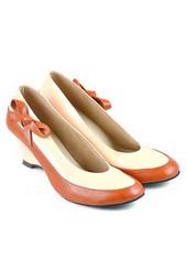 Sepatu Formal Wanita Java Seven TAN 223